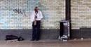 Saxophone Busker by RysiekJan