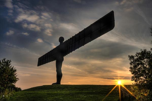 Angel of the North Gateshead by stevenb