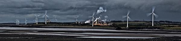Windfarm pano