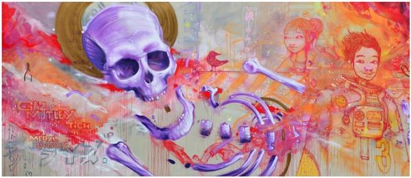 "\""Skull et al\"" by RonnieAG"