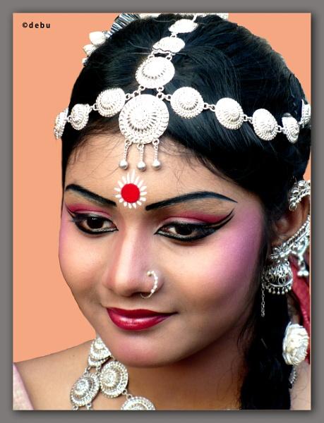 Odissi dancer by debu
