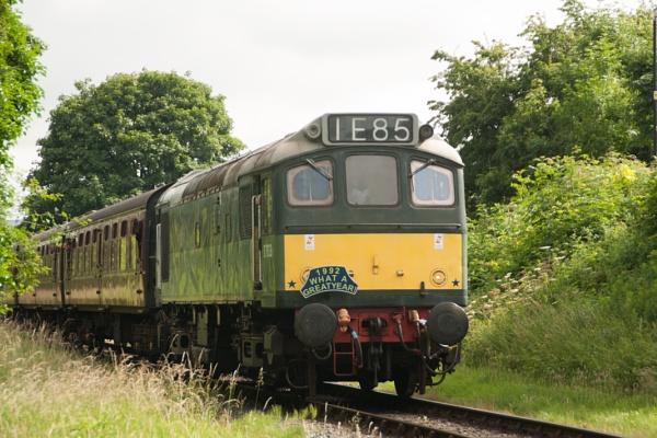 Diesel  Loco by chriswood