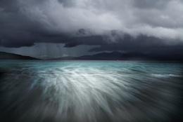 Storm over Luskentyre