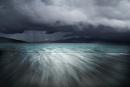 Storm over Luskentyre by KathrynJ
