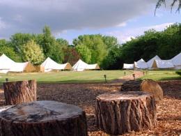 Glamping Brome Suffolk Oak Lodge Retreat