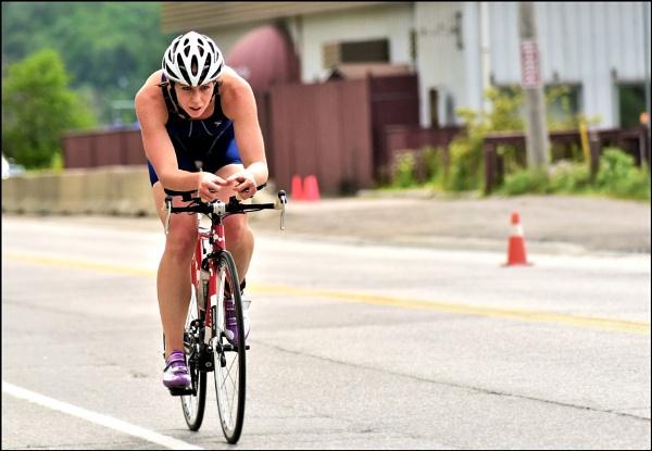 Determined triathlete by djh698