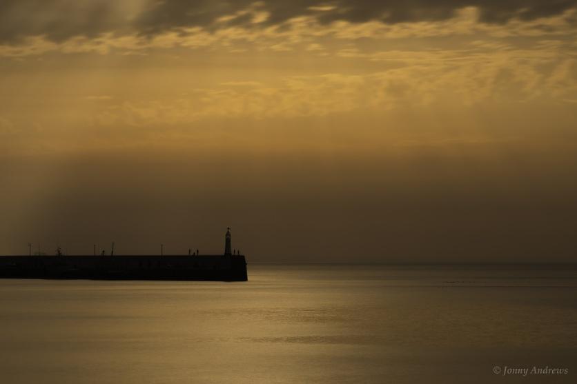 Peel Breakwater, Isle of Man