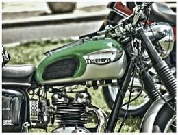 TRIUMPH MOTOR BIKE