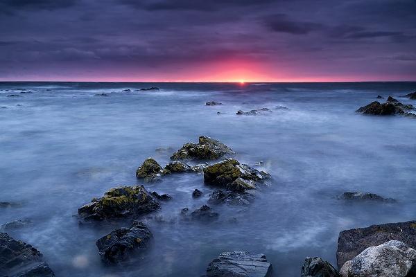 L\'Etacq Sunset by happysnapper