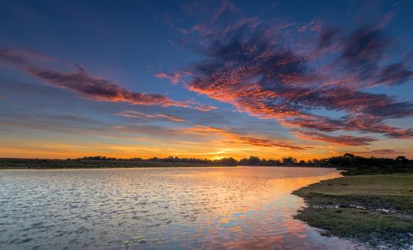 Hatchett Pond Dawn by NickLucas