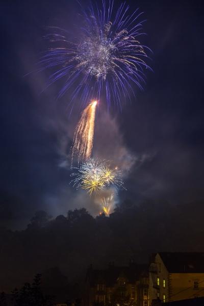 Autumn Fireworks by Legend147