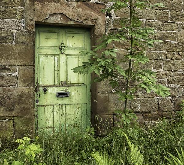 Green door by BillRookery