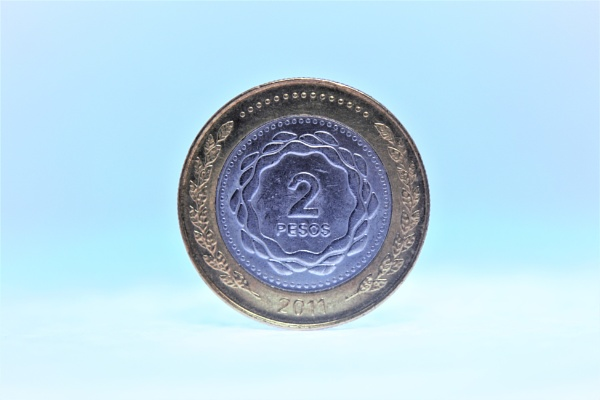 A two pesos coin by DiegoCueto75