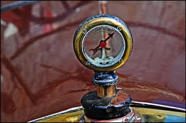 Vintage Car Detail by Grumby