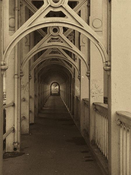 High Level Bridge walkway by ross15775