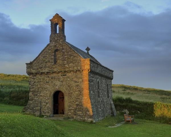 St Non's Chapel - Pembrokeshire