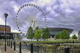 Ferris Wheel Liverpool.