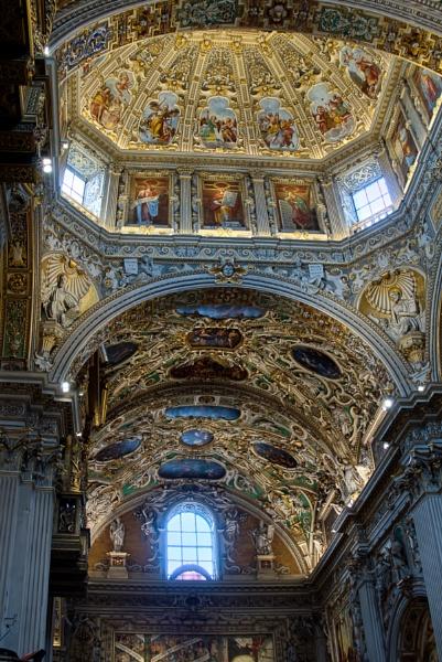 BERGAMO, LOMBARDY/ITALY - JUNE 25 : Interior View of  the Basili by Phil_Bird