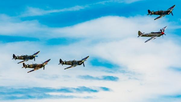 Spitfires by Stevefz