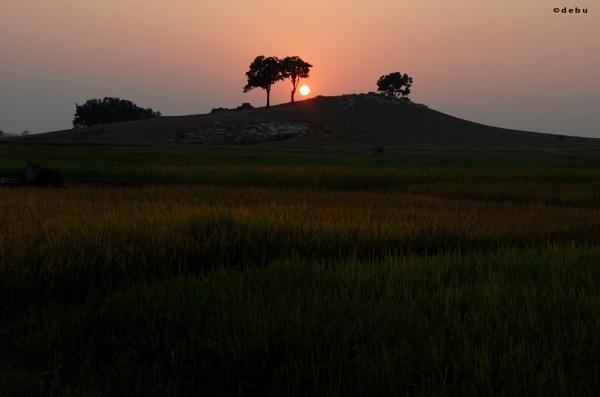 Sunset in Simultala...2 by debu