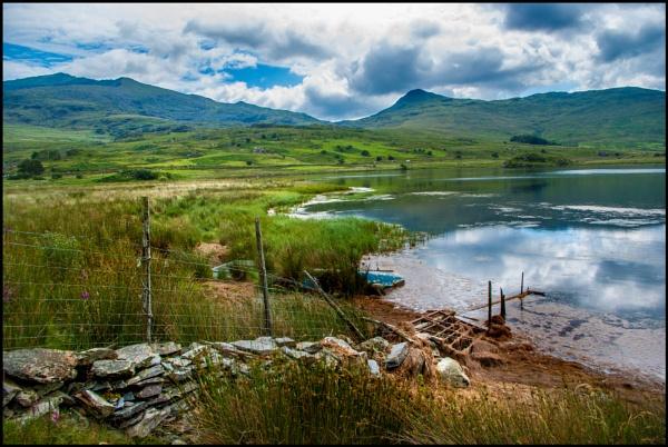 Aran and Snowdon by bwlchmawr
