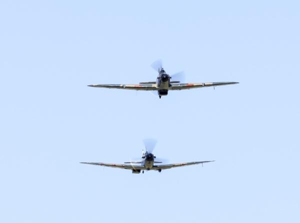 Battle of Britain Memorial Flight by doverpic