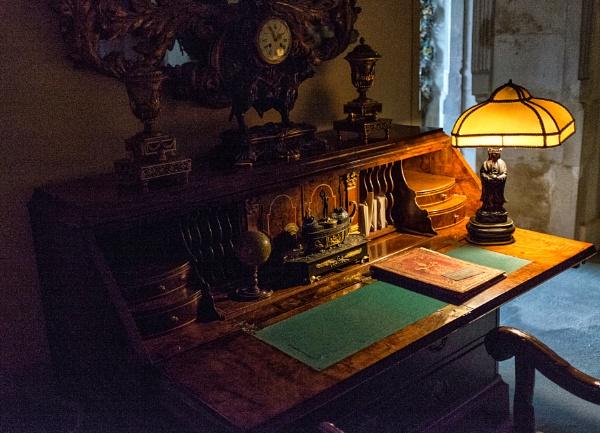 Posh Writing Desk by NevJB