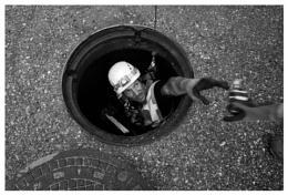 a small hole