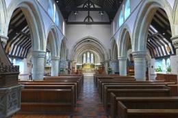 St Faiths church in Havant, UK