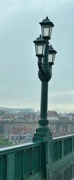 Lamps on Tyne Bridge by ross15775