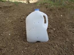 Bottle full of holes