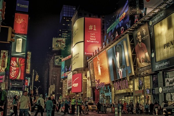 Time Square by bobbyl