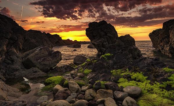 Rocky Sunset by happysnapper