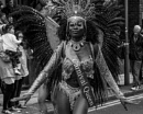 Carnival Queen Black and White by ginz04