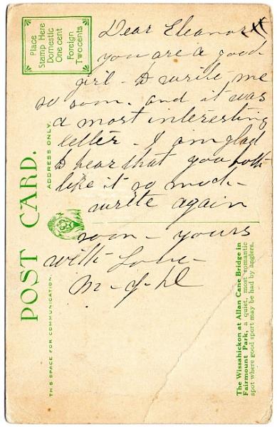 Send me a postcard by justwilliam