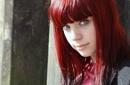 Green eyes and red hair. by shishidog