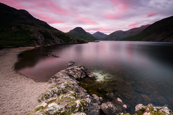 Wastwater sunset by PMWilliams
