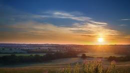 Sunrise From The Ridge