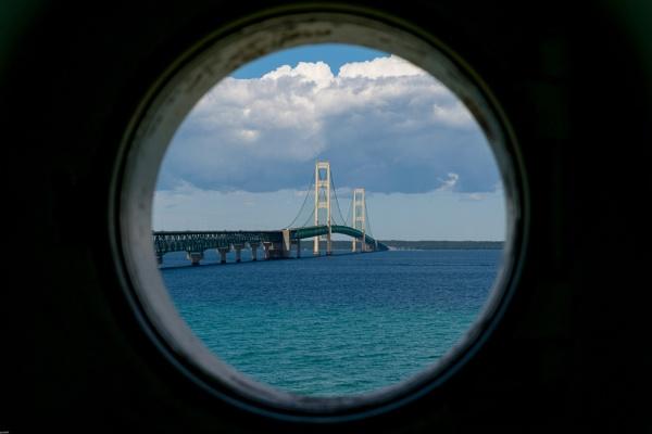 Mackinac Bridge by LGHSTF