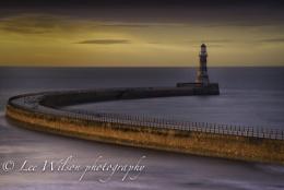 light on the pier