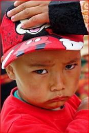 *** Annoyed Tibetan Boy ***