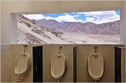 *** Urinal with Himalayan view ***