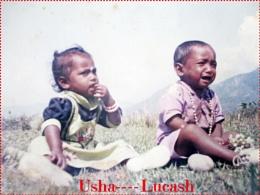 Lucash Hembrom's childhood photo