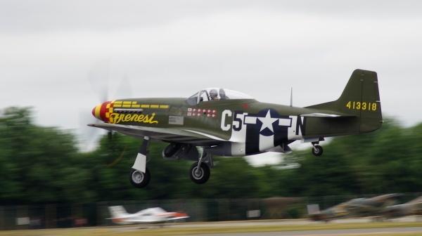 """P-51 Mustang \""""Frenesi\"""" by Kako"""