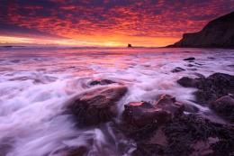 Dawn on Saltwick