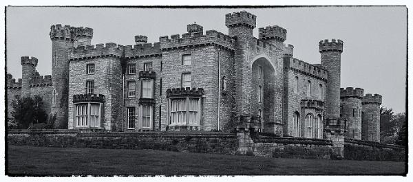 Bodelwyddan Castle from Back by ugly