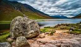 Loch Etive boulder