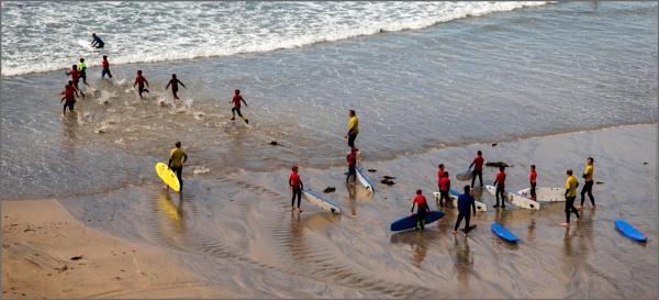 Surf school fun. by rambler