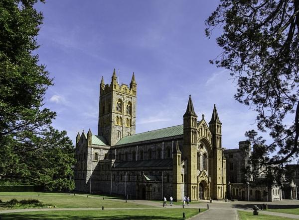 Buckfast Abbey by EG