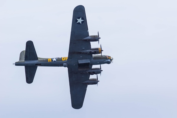 """Sally B\"" B17 Super Fortress by Gordonsimpson"